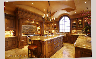 Clive Christian Gourmet Kitchen Island Designs With 1 Window and Unique Decoration Photo 004