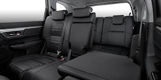 Hàng ghế thứ ba Honda CRV 7 chỗ