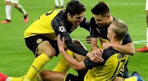 هالاند يقود بوروسيا دورتموند لتحقيق الفوز على باريس سان جيرمان في ذهاب دور ال 16 من دوري أبطال أوروبا
