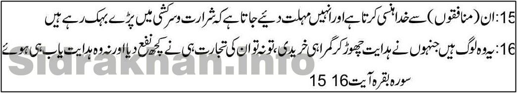 Al-Baqara ayat 16 16