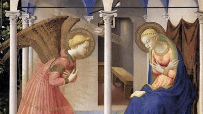 Archangel Gabriel's Annunciation to Mary
