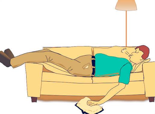 posisi tidur seperti bayi dalam kandungan