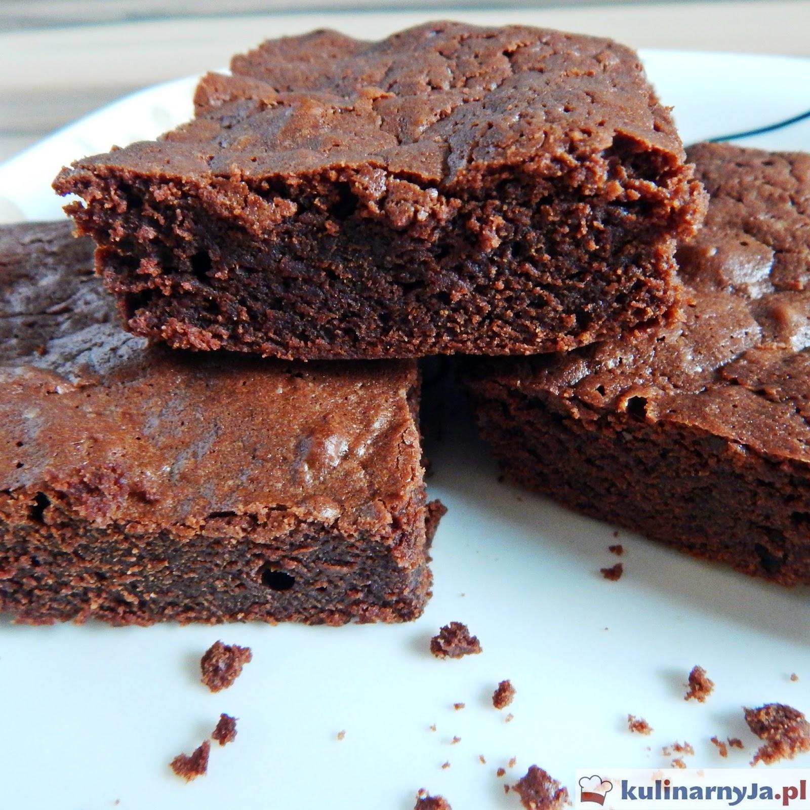 Brownie czekoladowe