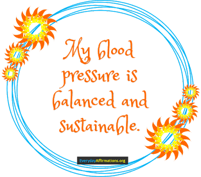 Health Affirmations for Blood Pressure2