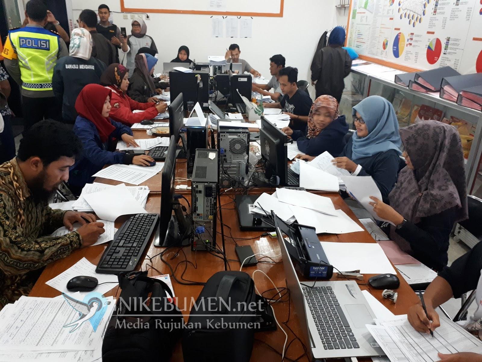 Real Count KPU Kebumen, Sudirman-Ida Fauziyah Unggul di 18 Kecamatan