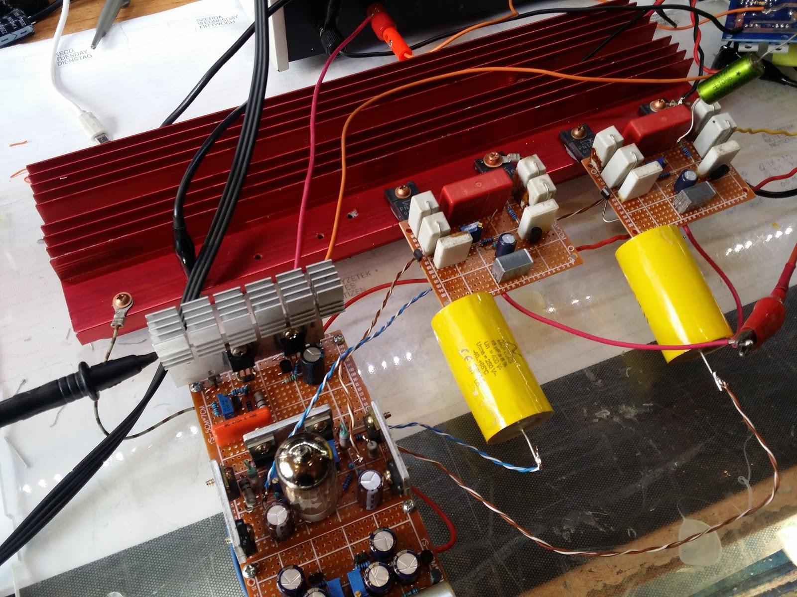 Tudstr Tervezznk Hibrid Erstt I Rsz A Osztly The Fu29 Pushpull Circuit Amplifiercircuit Diagram Elrelps Lenne Az Is Ha Vlasztani Lehetne Hogy Mekkora Terhel Impedancit Kapcsolunk R S Annak Fggvnyben Lltja Nyugalmi Ramot