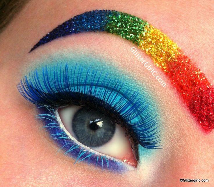 Rainbow Full Face Paint Gay