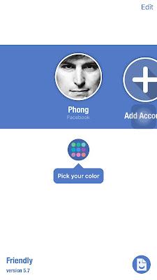 thêm nhiều tài khoản facebook trên iphone, ipad