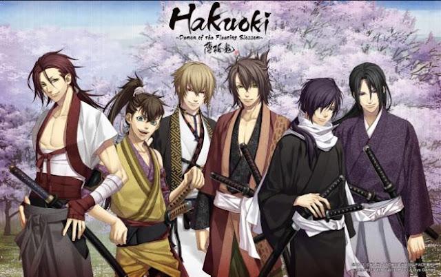 Hakuouki - Anime Tentang Perang Terbaik dan Terkeren (Dari Jaman Kerajaan sampai Masa Depan)
