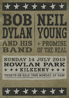 Neil Young, Bob Dylan, Kilkenny Irland 2019