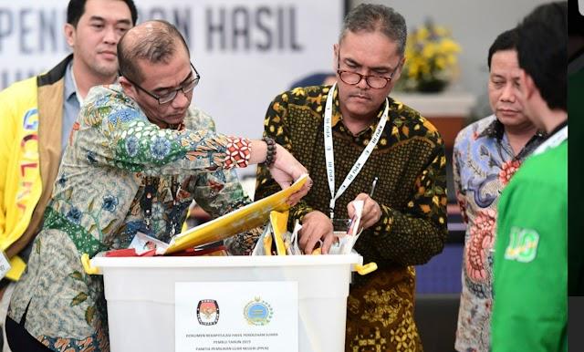 KPU Sahkan Rekap Papua: Jokowi Menang 2,6 Juta Suara dari Prabowo