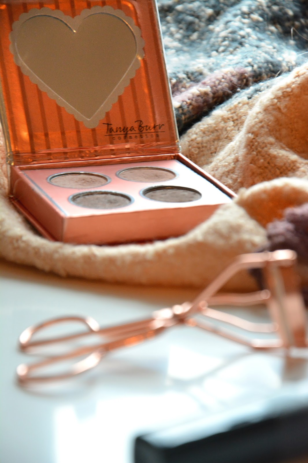 Primark Eyelash Curler, Tanya Burr Cosmetics Birthday Suit Eyeshadow Palette