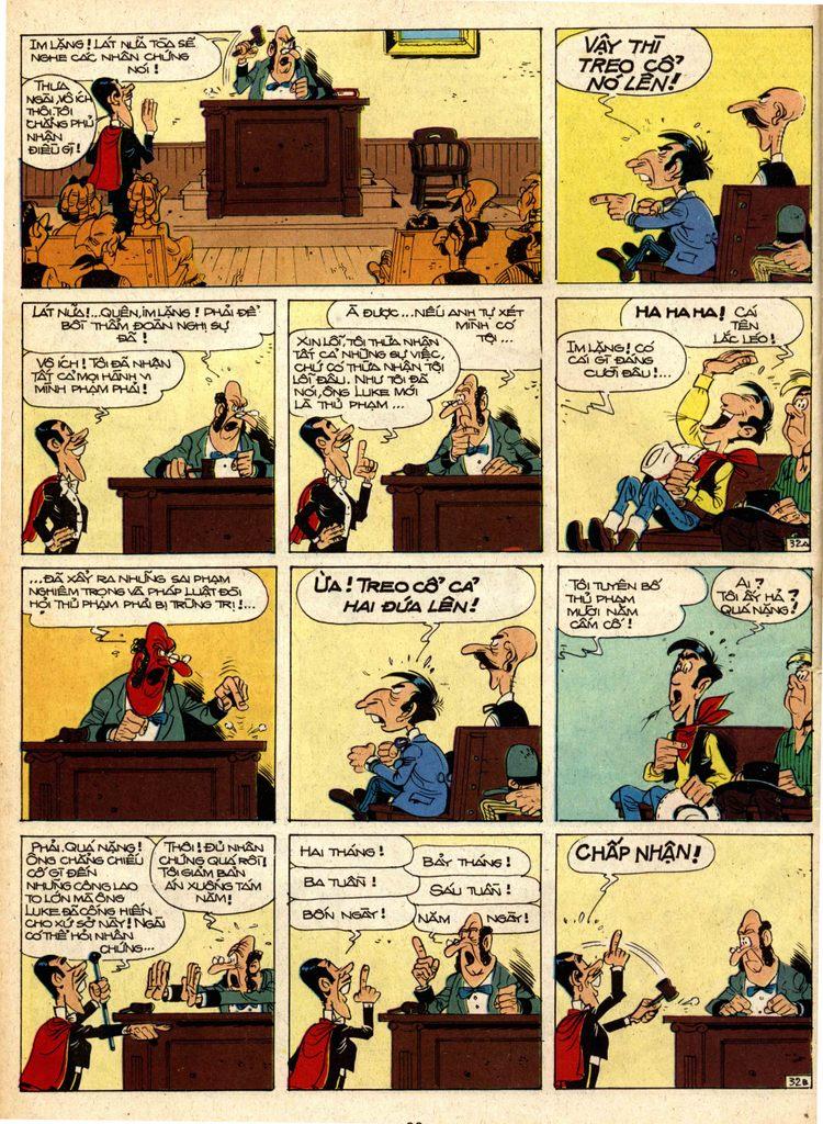 Lucky Luke tap 1 - ban tay nham trang 31
