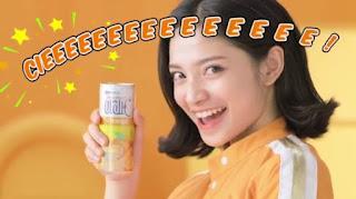 Bintang iklan OranC Rasa Jeruk