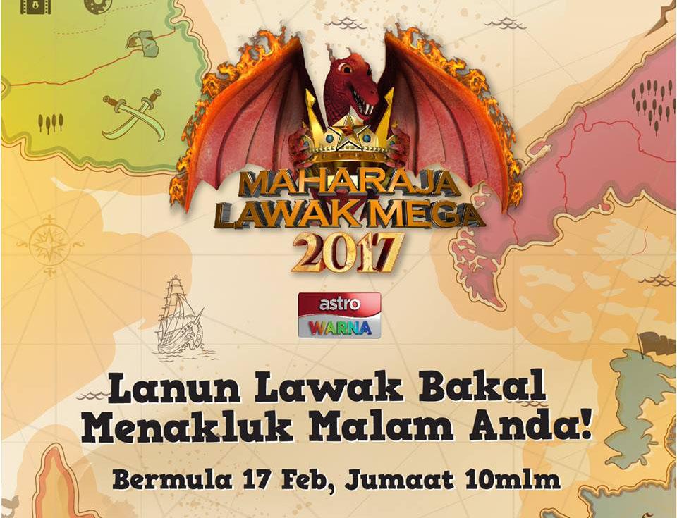 Tonton Maharaja Lawak Mega 2017 Minggu 1