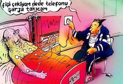 hasta telefon karikatür ile ilgili görsel sonucu