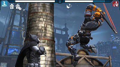 Batman Arkham Origins APK Mod Data OBB - Jayawaru