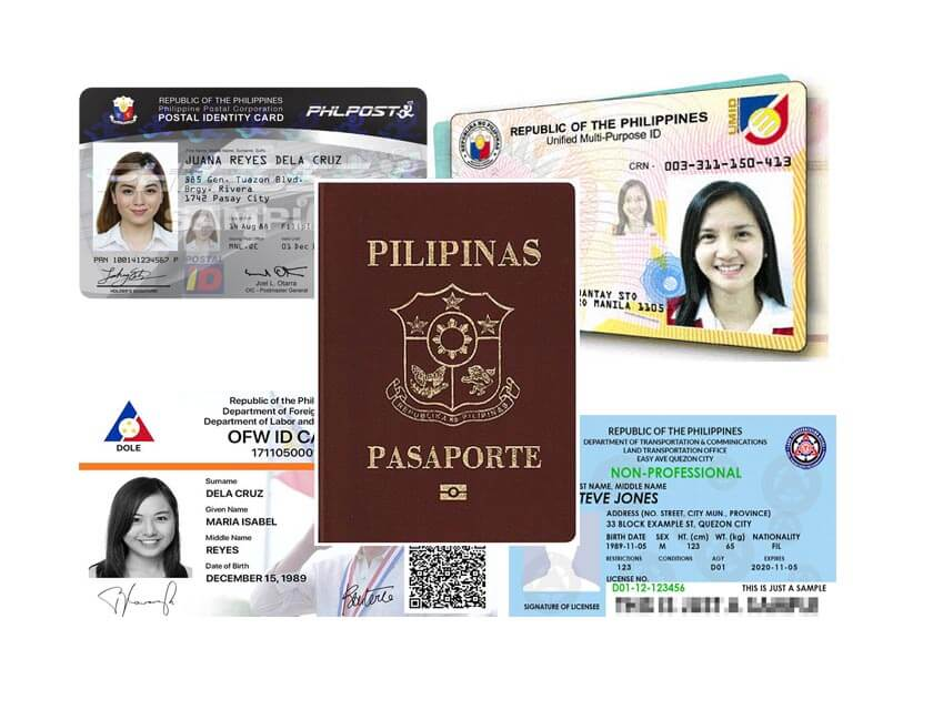 Valid ID Philippines