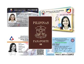 List of Acceptable Valid ID's in the Philippines