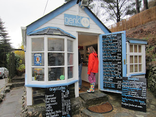 Genki cafe, St Agnes, Cornwall