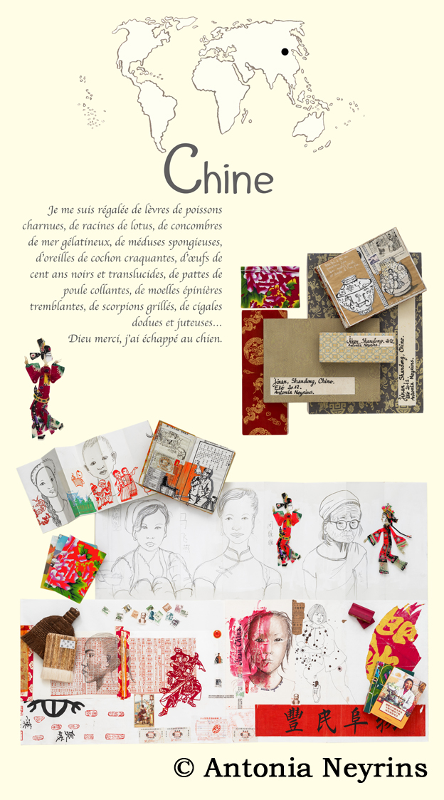 exposition carnet carnets de voyage antonia neyrins rencontre atelier scolaire stage