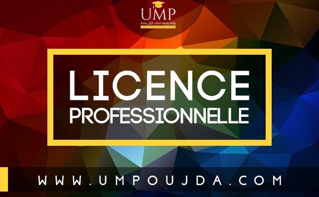 Faculté des Sciences de l'Education Rabat : Licence professionnelle 2017/2018