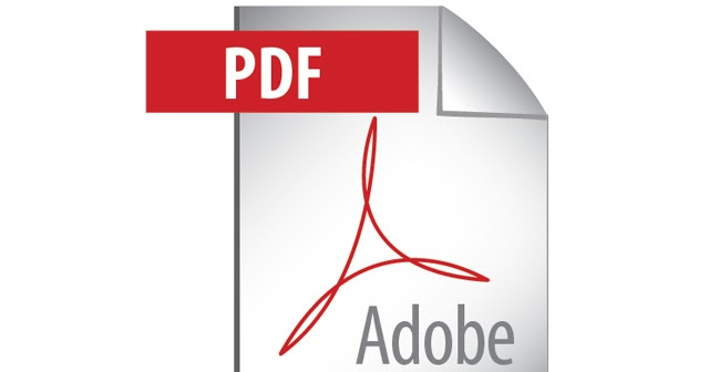 DOMAWE.net: Adobe PDF Icon - Vector Logo