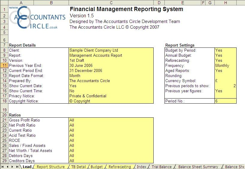 Management Report Templates – 26+ Free Word, PDF, Documents Download
