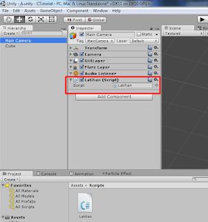 Unity C# Tutorial Indonesia : Basic 16 - GameObject dan GetComponent - Unity C# Tutorial Indonesia