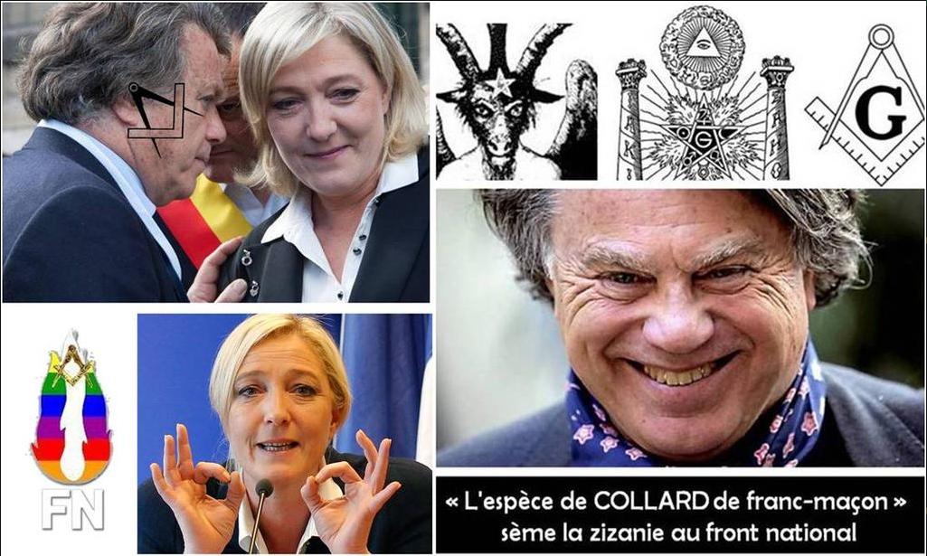 """Résultat de recherche d'images pour """"FRONT NATIONAL FRANC MACONNERIE"""""""