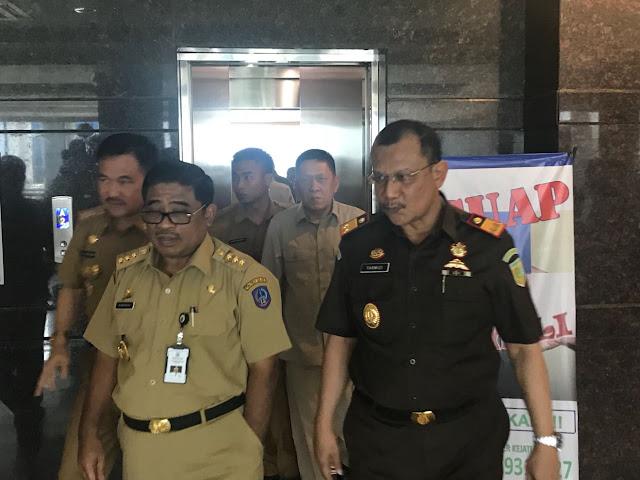 Ingin Wujudkan Pilkada Damai di Sulsel, Pj Gubernur Sulsel Sambangi Kajati Sulselbar