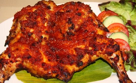 resep memasak ayam bakar taliwang aneka resep indonesia