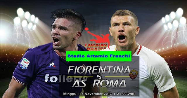 Prediksi Fiorentina vs AS Roma 5 November 2017
