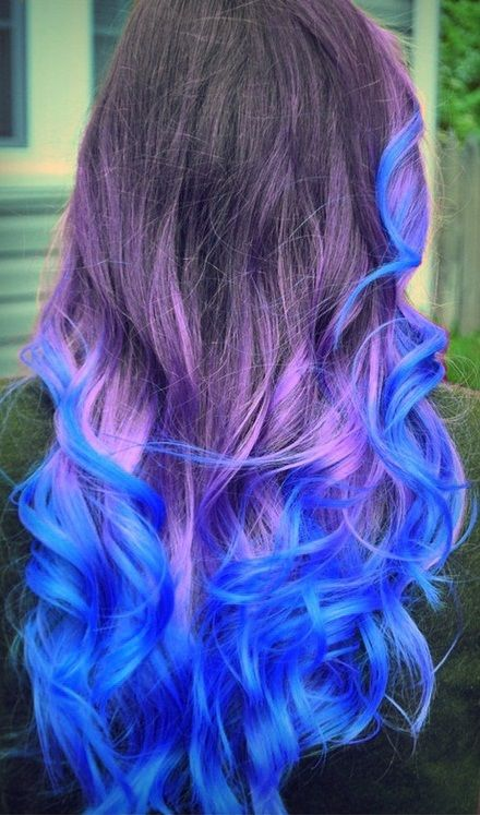 dipdyed colorful hairstyles the haircut web