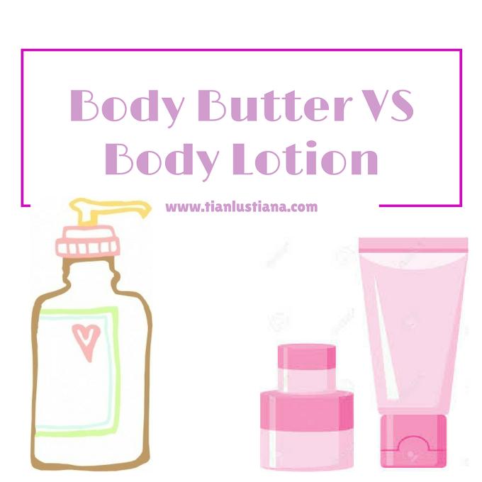 Body Butter VS Body Lotion