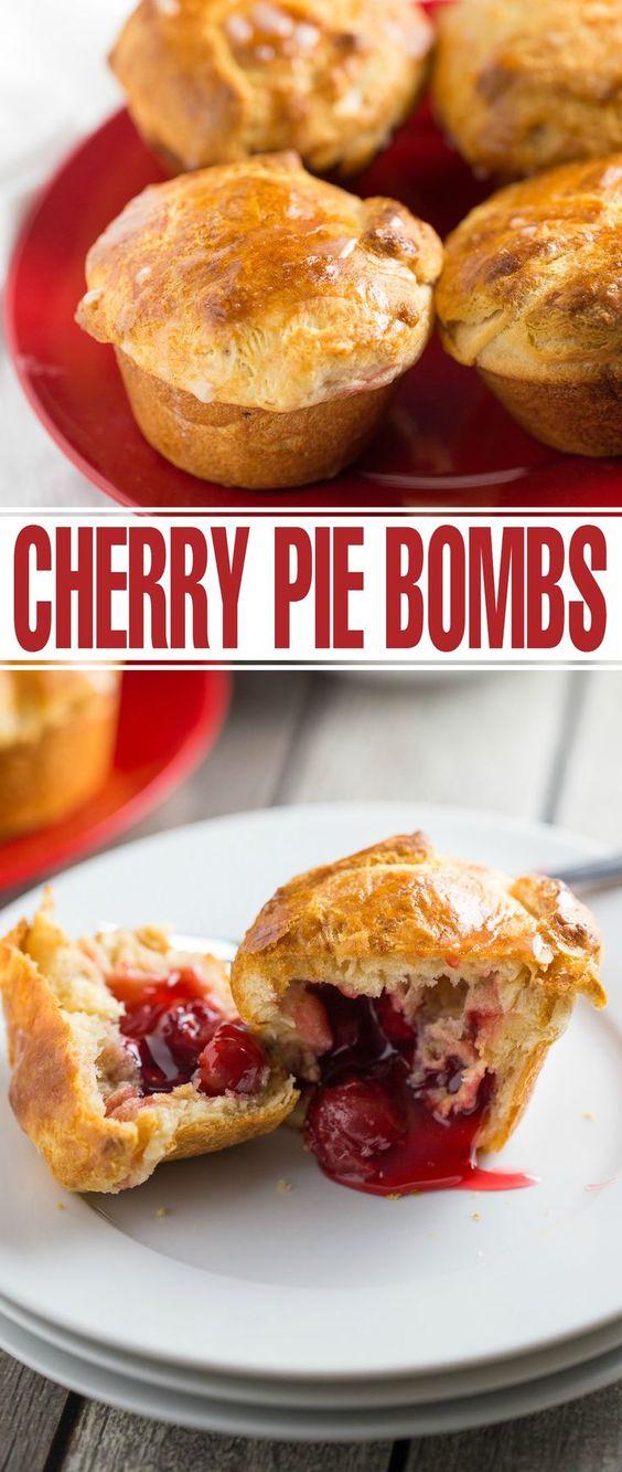 CHERRY PIE BOMBS RECIPES