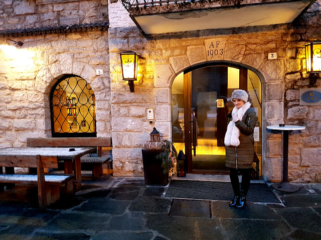 weekend w Alpach i Monte Carlo - Alpy zimą - Monte Carlo zimą