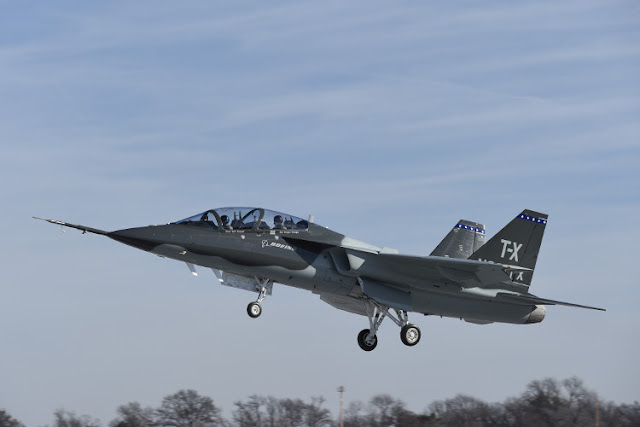 BOEING T-X JET TRAINER MAKES MAIDEN FLIGHT