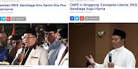 PKS Naikkan Pangkat Sandiaga: dari Santri Post Islamisme Jadi Ulama