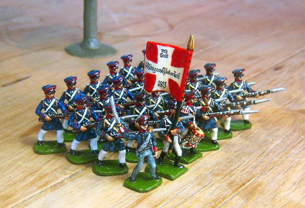 Hinton Hunt Prussian Landwehr