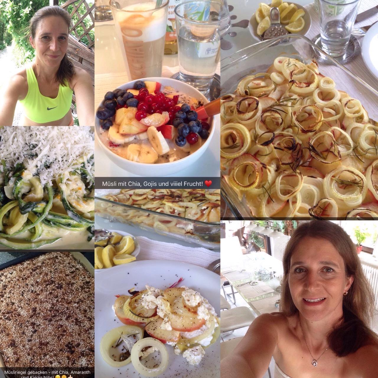 Wochenplan mit sechs Clean Eating Rezepten plus Cheat Day für eine Fitness-Woche im Januar