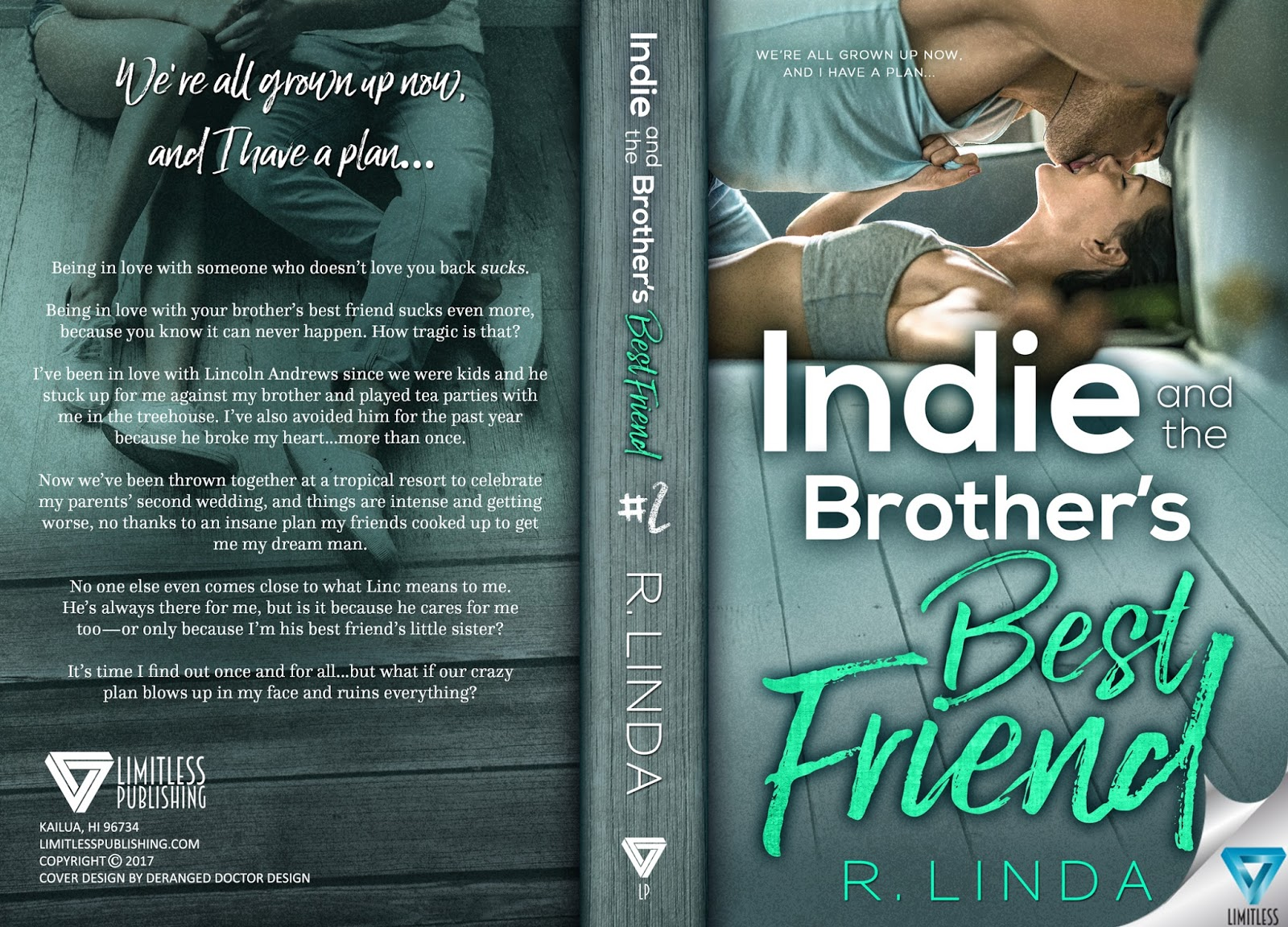 INDIE AND THE BROTHER'S BEST FRIEND by R  Linda: Cover Reveal