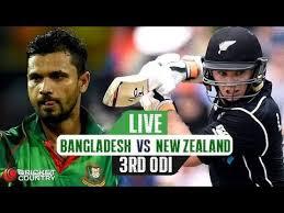 Ban vs NZ 3rd ODI