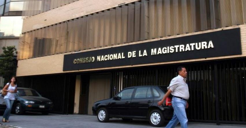 Convocan plantón de protesta frente a sede del Consejo Nacional de la Magistratura - CNM