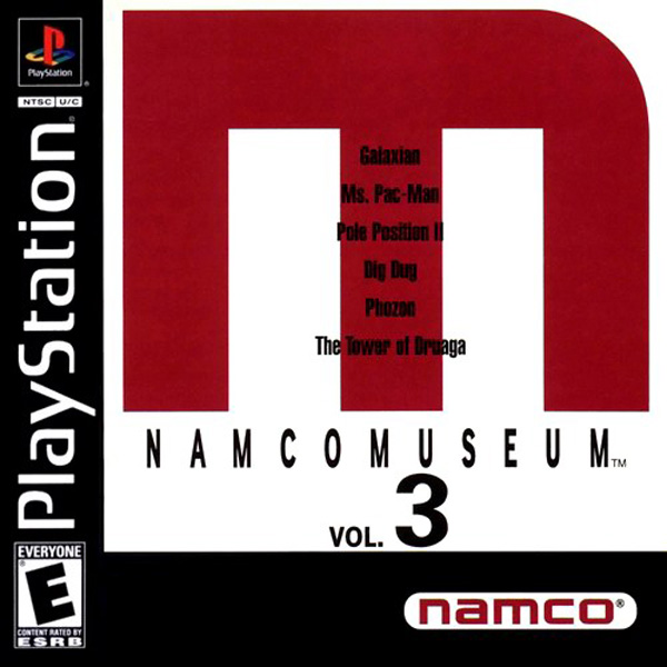 Namco Museum Vol. 3 - PS1 - ISOs Download
