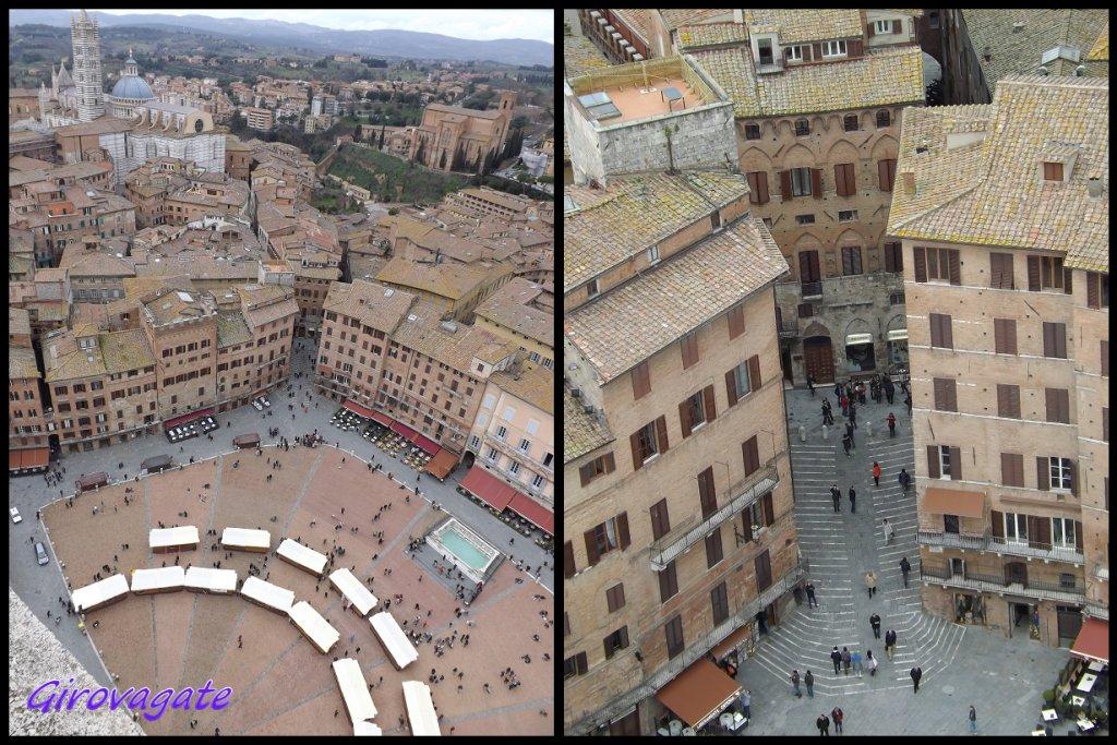 Torre Mangia panorama Siena