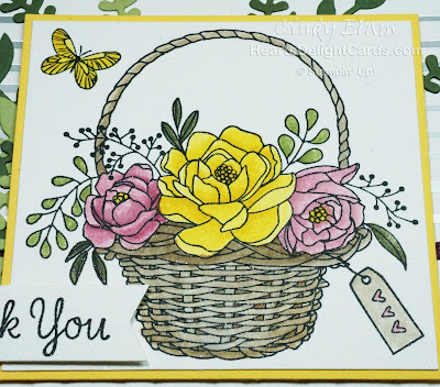 Heart's Delight Cards, Blossoming Basket, Sale-A-Bration 2018
