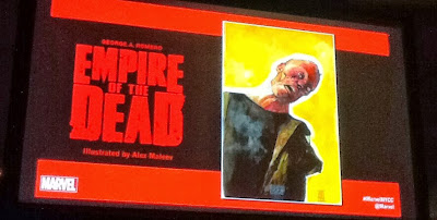 Empire of the Dead, pannello di presentazione al New York Comic Con