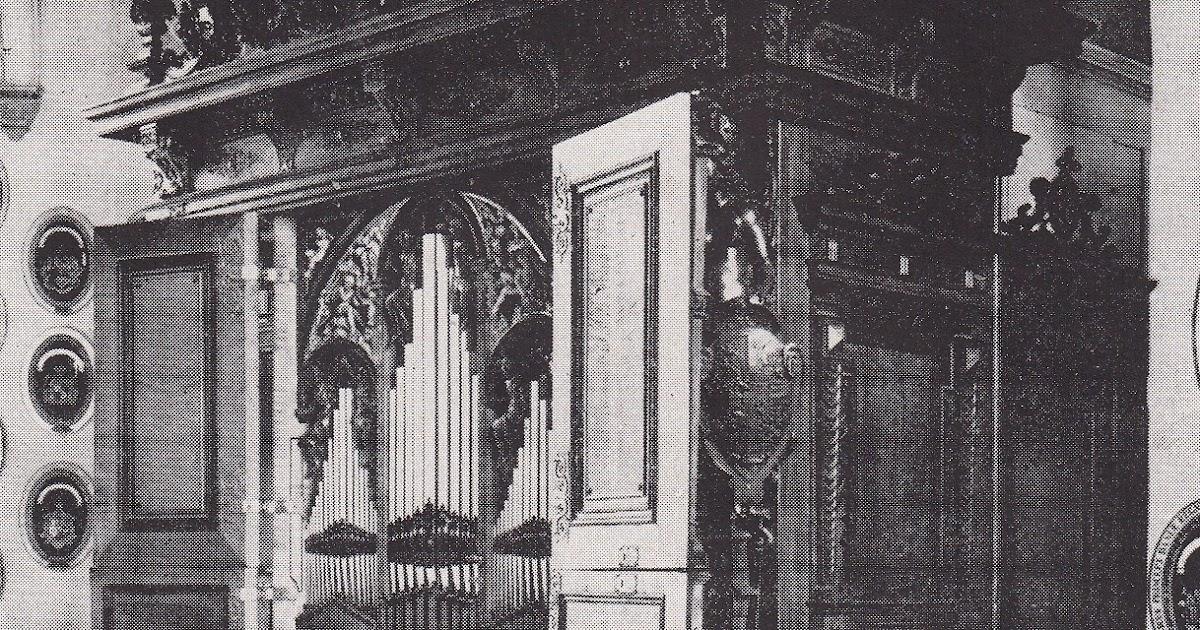 The Shellackophile: Finn Viderø at the Compenius Organ