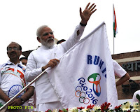 Run For Rio: PM urges athletes to give their best for the country